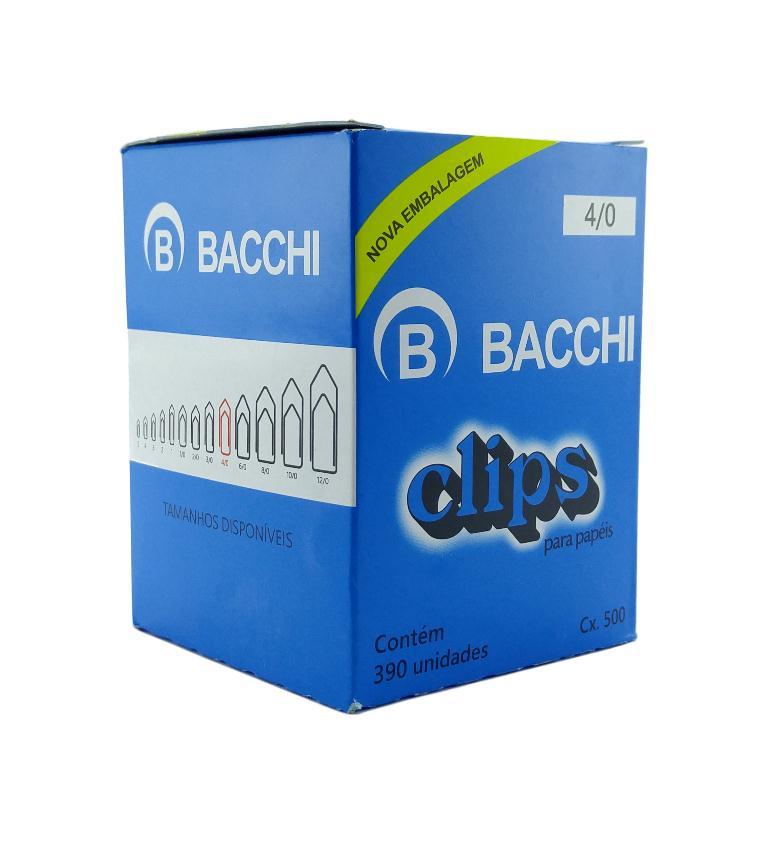 Clips Galvanizado 4.0 500Gr Bacchi