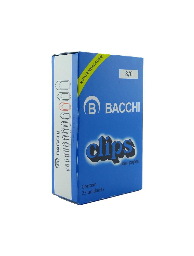 Clips Galvanizado 8.0 C25 Bacchi